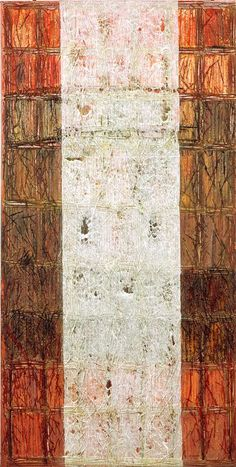 Year: 2012 - Information: Oil on canvas, mixed media painting process, 100x200 cm