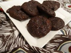 double chocolate avocado cookies - Predominantly Paleo