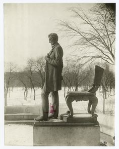 Sculptor: Saint-Gaudens, Augustus Photographer: Ward, De Witt