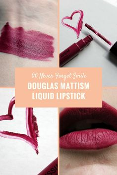 Such a beautiful liquid lipstick, it is a kinda berry, bordeaux shade. I like it a lot and I did a full review on it. Enjoy!