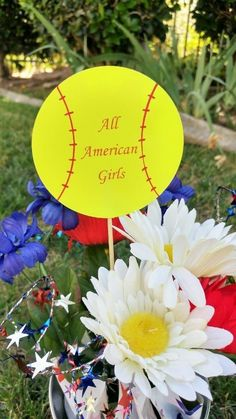 Cheap and Easy DIY Softball Party Decorations for an end of the year pool party along with other budget friendly party ideas. Softball Party Decorations, All American Girl, Easy Diy, Birthday Parties, Party Ideas, Play, Inspiration, Inspired, Birthday Celebrations