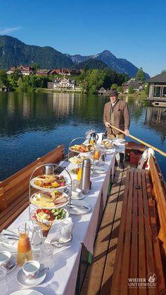 Plätten Frühstück am Grundlsee. #Ausseerland