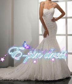 free+shipping+lace+wedding+dresswedding+dress+/lace+by+epindress,+$248.00