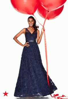 0398890fb1 Adrianna Papell Floral Embroidered Illusion Gown   Reviews - Dresses -  Women - Macy s