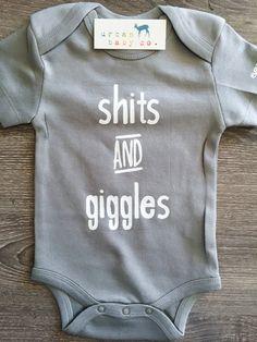 Shts & Giggles Baby Boy Girl Unisex Infant by shopurbanbabyco