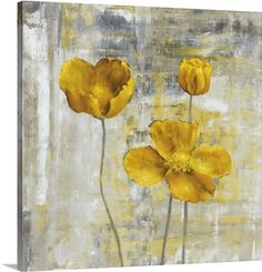 Yellow Wall Art | Great Big Canvas