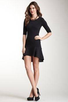 With or without leggings . . . Fabulous! - Melody Heavy Jersey Dress by Twenty8Twelve on @HauteLook