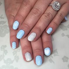 44 Awesome Baby Shower Nails Boy Images Pretty Nails Hair