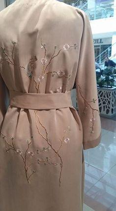Home dress in Japan Style. Arttist Poina Volynskaya