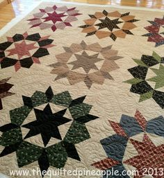THE QUILTED PINEAPPLE - Swoon Block