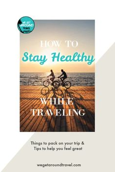 Want to stay fit and on track while on vacation? Check out these tips on how to stay on track and healthy while traveling. Packing Tips For Travel, Travel Advice, Travel Hacks, Travel Ideas, World Travel Guide, International Travel Tips, Culture Travel, Australia Travel, Solo Travel