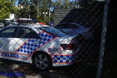 https://flic.kr/p/zCNmXa | Queensland Police Service | Vehicles stationed at Beenleigh Police Station, Beenleigh, QLD