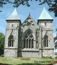 Norway. The bishopric of St. Svithun, or Stavanger, included remote places like Eidfjord in Hardanger, Røldal, Hallingdal and Valdres together with the counties of Rogaland and Agder. The building of the church started in 1123 - 1128. The first bishop was a Benedictine monk named Bishop Reginald (or Reinald) from Winchester, England.  Stavanger Cathedral is also called St. Svithun Cathedral after a 9th century bishop from Winchester who was canonized.