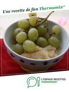 Compote Pomme/raisin (sans sucre) {à partir de 6 mois} par Marina.S. Une recette de fan à retrouver dans la catégorie Alimentation pour nourrissons sur www.espace-recettes.fr, de Thermomix<sup>®</sup>.