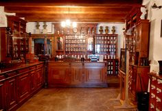 A stunning 18th century pharmacy and medieval chemist's collection.