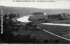 Cartes Postales Photos La Vallée de la Marne  77730 SAACY SUR MARNE seine et marne (77)