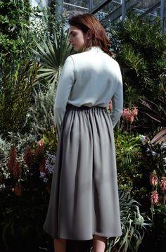 Park Slope Skirt Vintage Blue | MM.LaFleur