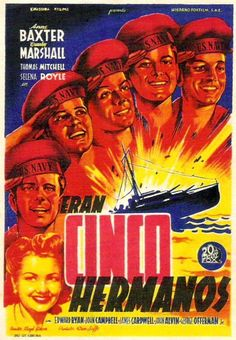 1944 - Eran cinco hermanos - The Sullivans