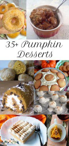 Pumpkin Donuts Recip