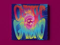 Childish Gambino - Psychedelic Album Cover by Tudor Cucu Album Cover Design, Childish Gambino, Tudor, Album Covers, Psychedelic, Graphic Design, Artwork, Art Work, Work Of Art
