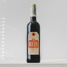Alex Westage Red-eye packaging