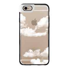 iPhone 6 Plus/6/5/5s/5c Metaluxe Case - Clouds ($50) ❤ liked on Polyvore featuring accessories, tech accessories, phone cases, phone, cases, electronics, iphone cases, iphone cover case, iphone case and apple iphone cases