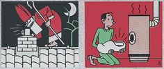 Postzegel Sinterklaas (image retravaillée avec PhotoFiltre)