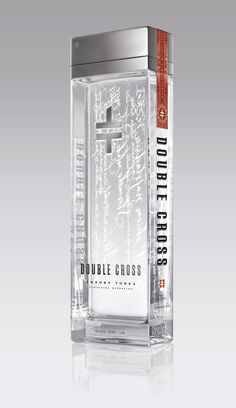 double cross vodka from slovakia!