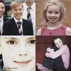 these are the kids who played in Narnia...at least they're so little in this pict! :) awwwwwww ! Their all grown up now:')