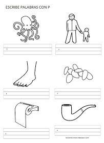 RECURSOS DE EDUCACIÓN INFANTIL: PALABRAS CON ... Math, Labyrinths, Note Cards, Words, Mathematics, Math Resources