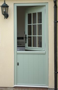 45 ideas exterior window design ideas beautiful for 2019 Cottage Front Doors, Cottage Door, Cottage Exterior, Half Doors, Windows And Doors, Sash Windows, Big Windows, Front Door Design, Window Design