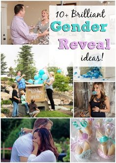 10  Brilliant Gender Reveal Ideas that are picture perfect. Gender Announcement