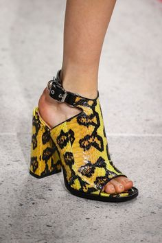5e6890d8d410 Spring 2017 Shoe Trends Straight From the Runway - Best Spring and Summer  Shoes