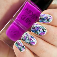 Paint All The Nails 'Dry Brush Nail Art' by 'Paulina's Passions' ♥≻★≺♥