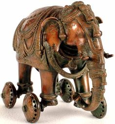 elephant on wheels from India...