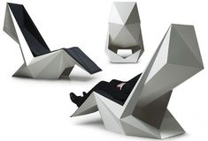 POWER'NAP - Furniture for open offices and lounge enviroments Designed by Ninna Helena Olsen, Denmark 2008