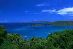 St. John, USVI: wish I could afford to stay here and see that view every day.