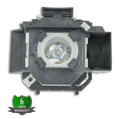#ELPLP34 #OEM Replacement #Projector #Lamp with Original Osram Bulb