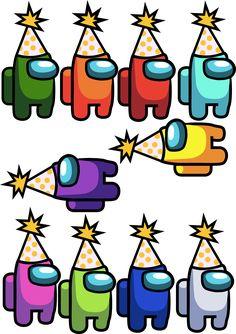 Birthday Hat Png, Kids Birthday Themes, Birthday Balloon Decorations, 9th Birthday Parties, 12th Birthday, Boy Birthday, Happy Party, Party Hats, Barbie
