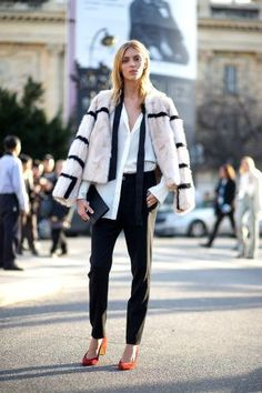 Street Style : The Street Clique: Paris Style