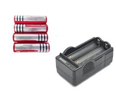 4Pcs GOODFIRE 18650 37V 6800mAh Lithium Ion Parallel Battery with dual Charger Color red Size 4pcs 6800mAh  dual Charger Model * You can get more details by clicking on the image.
