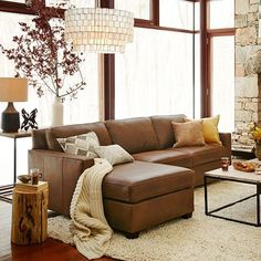 Trends Camel Leather Brown Sofa Design Ideas In 2019 - Living Room Color Schemes, Living Room Colors, Living Room Sofa, Living Room Interior, Home Living Room, Living Room Designs, Earth Tone Living Room Decor, Colour Schemes, Apartment Living