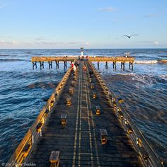 Galveston Fishing Pier was built in 1971, and has been a favorite spot for fishermen for over 40 years.