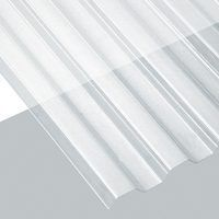 Suntuff 101699 Translucent Corrugated Panel 26 in W x 12 ft L Clear Polycarbonate (Pack of Polycarbonate Greenhouse, Polycarbonate Panels, Corrugated Roofing, Corrugated Plastic, Woodworking Jigsaw, Router Woodworking, Roofing Supplies, Exterior Wall Cladding, Hurricane Shutters