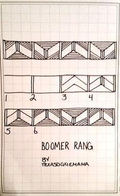 https://flic.kr/p/onMNsW | Boomer Rang tangle
