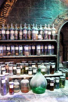 Potions. An alchemist's best friend...
