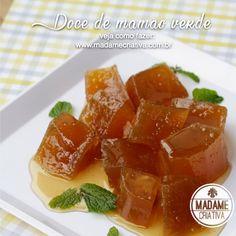 Receita de doce de mamão verde durinho por fora e macio por dentro - Green papaya compote