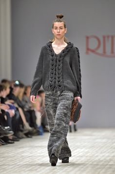 Fall/Winter 2015/16 Fashion show in Ukrainian Fashion Week