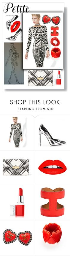 """petite"" by morag667 ❤ liked on Polyvore featuring Wow Couture, Yves Saint Laurent, Lauren Ralph Lauren, Clinique, Hermès, Chanel and Alchemy Jewelry"