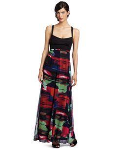 nice Jessica Simpson Women's Maxi Dress with Criss Cross Back